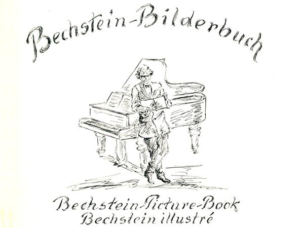 Bechstein Bilderbuch von 1928 – Titelseite