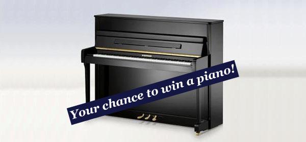 Klavier gewinnen mit C. Bechstein