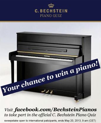 Bechstein Klavier gewinnen
