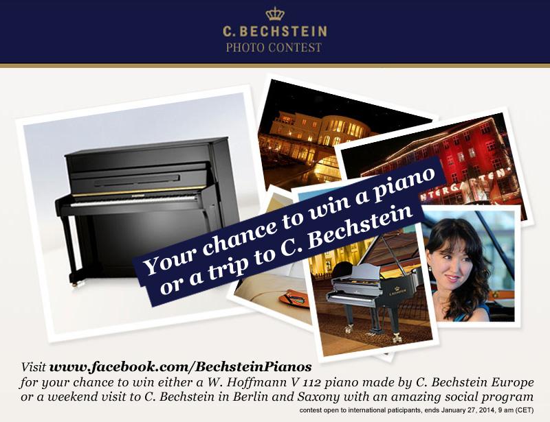 Photo Contest: Klavier von Bechstein gewinnen