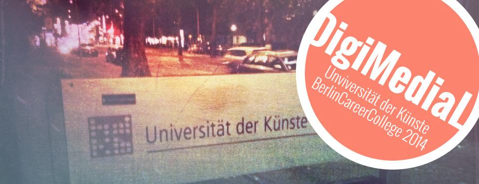 Als Experte für Musikmarketing an der UdK Berlin