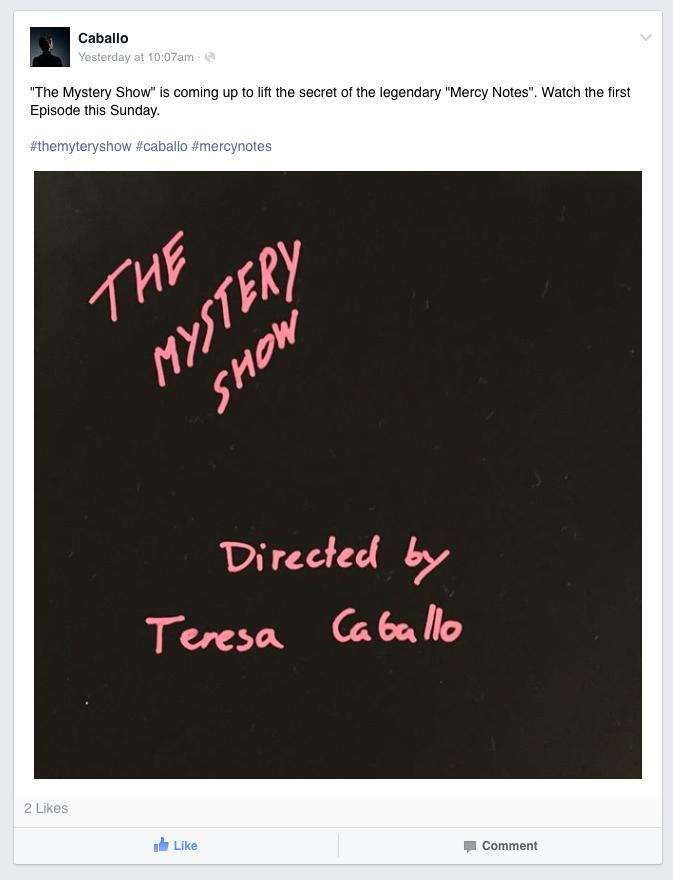 Teresa Caballo's Mystery Show
