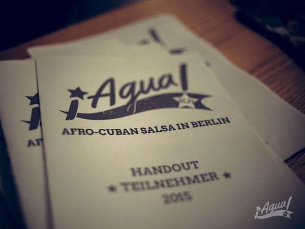 ¡Agua! Berlin Teilnehmer Handouts